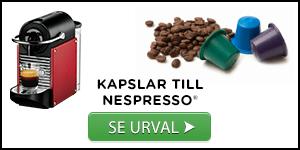 Urval av kaffekapslar till Nespresso®