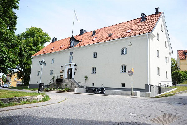 Slottsbacken Visby