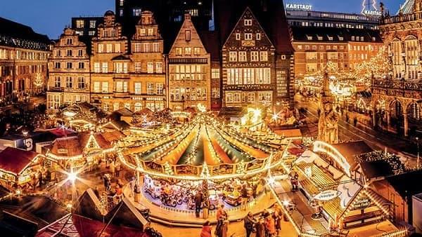 Julmarknad Lübeck 3 dagar