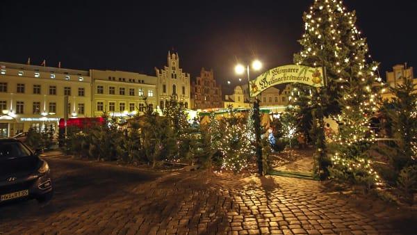 Julmarknad Wismar 3 dgr