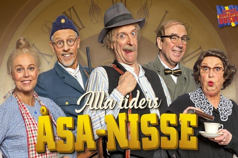 Åsa Nisse på Vallarnas Teater