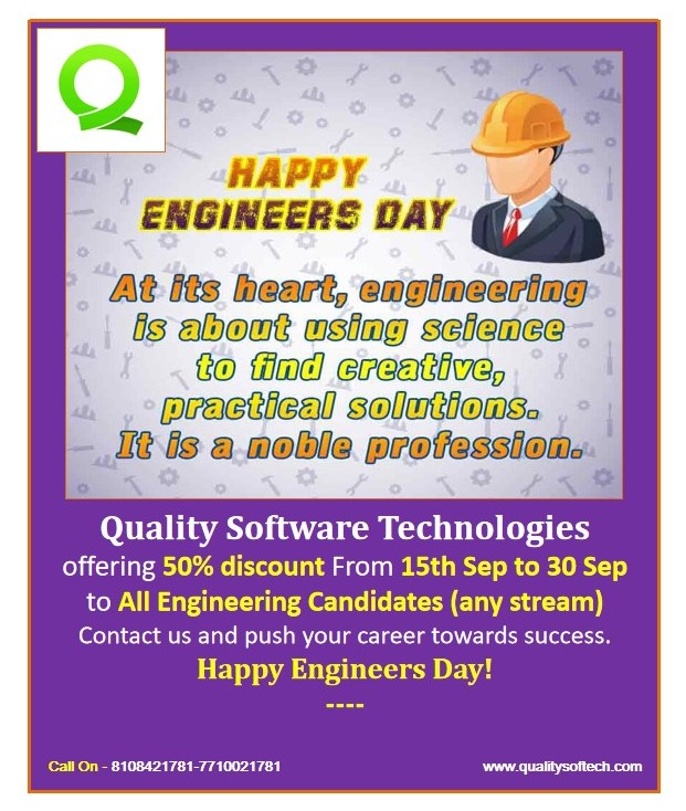 Quality Software Technologies Discount