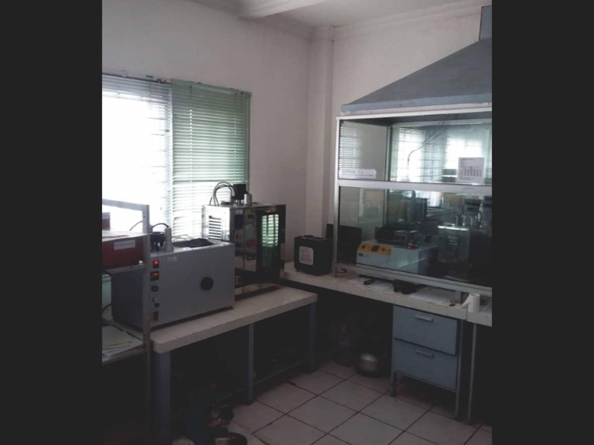 Proses kalibrasi pada Lab Suhu