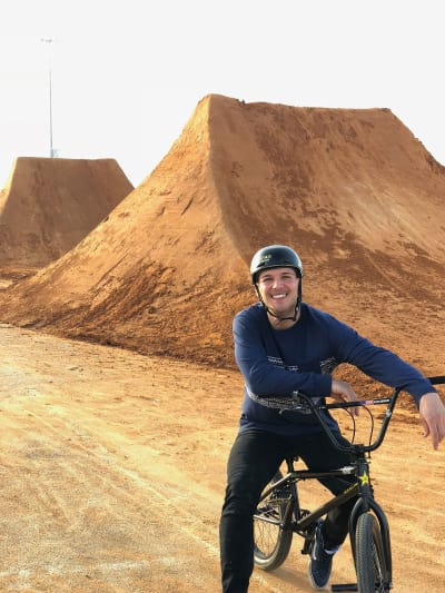 Rider Profile - Nick Bruce