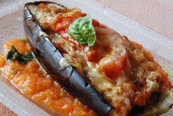 Resep Hidangan Buka Puasa; Hidangan Terung Isi Udang Jamur
