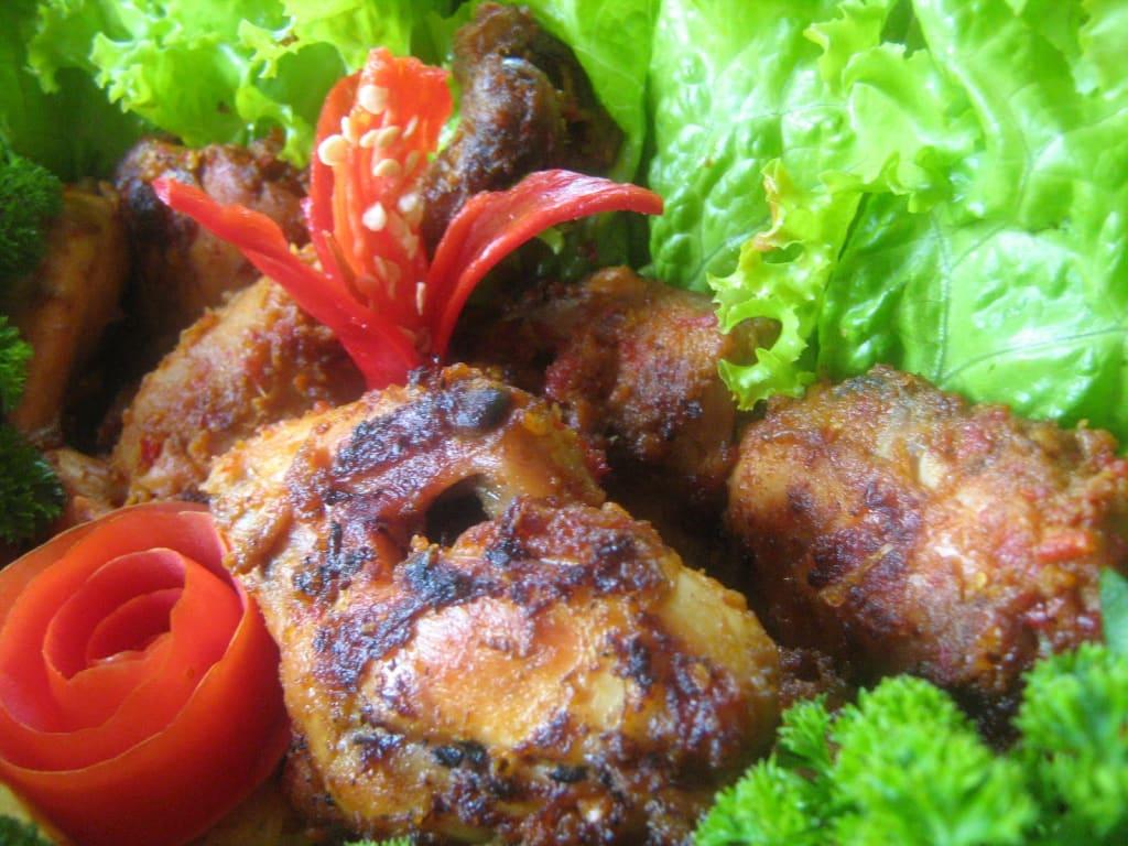 75. masakan ayam bumbu rujak