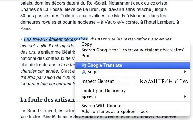 Google Translate for Google Chrome | kamiltech.com