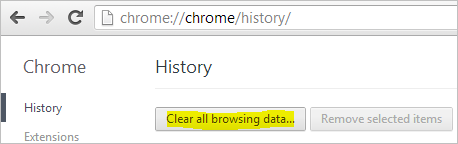 Chrome-Settings-History