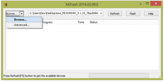 Mi-Flash-Tool DOWNLOAD XIAOMI