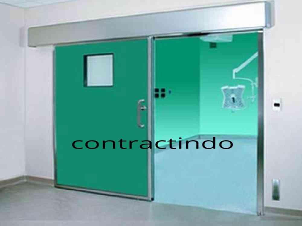 Pintu Otomatis Hermetic Autodoor Hermetic Automatic Sliding Door Hermetic Ruang Operasi