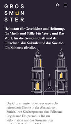 Reformierte Kirche Kanton Zürich grossmuenster.ch