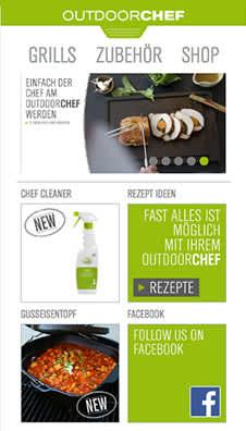 app Outdoorchef