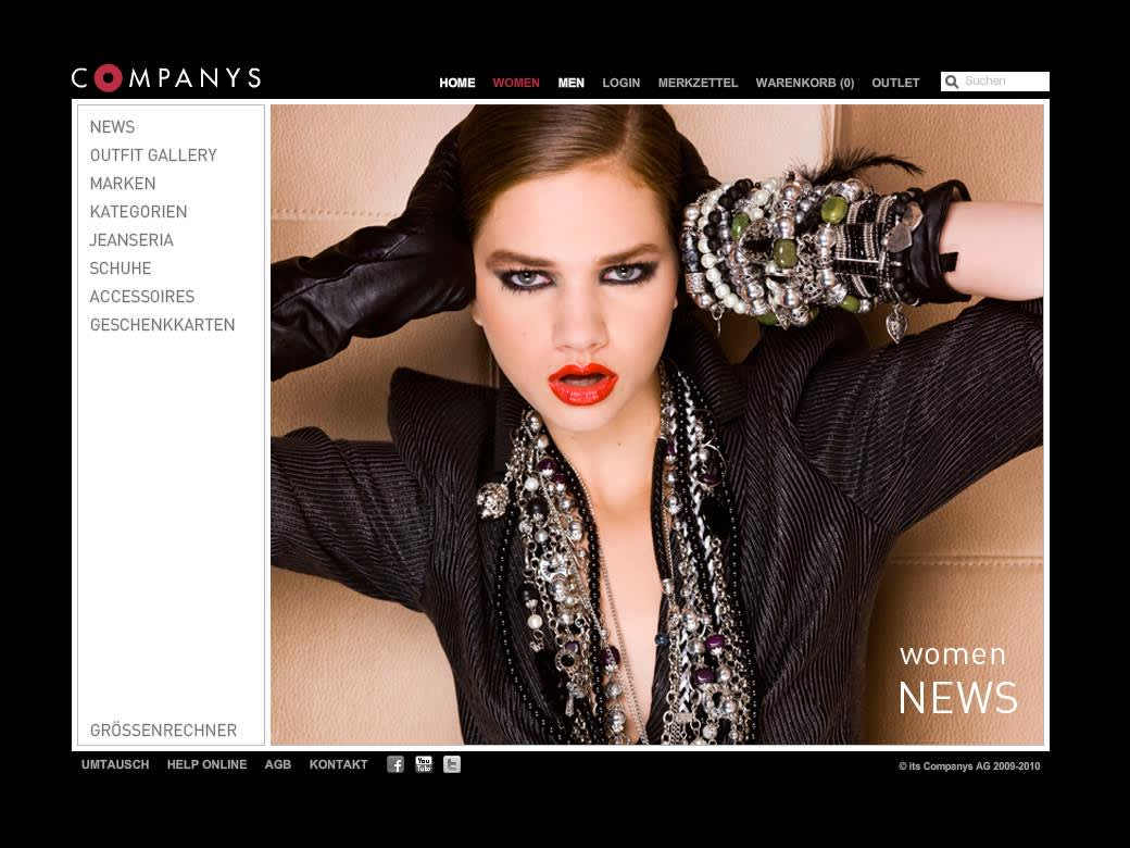 Companys Website