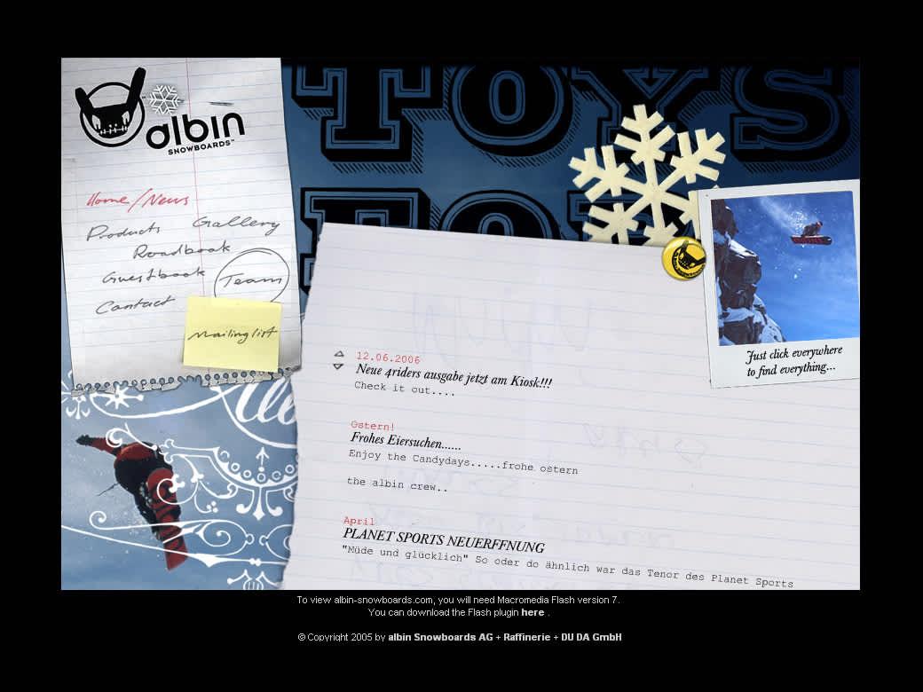 Albin Snowboard