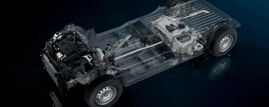 Peugeot partner platform med motor