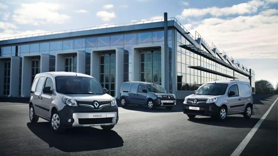 Tre Renault Kangooer