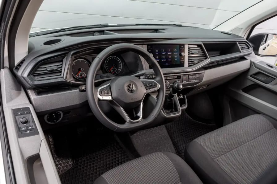 Førerhuset til Volkswagen Transporter