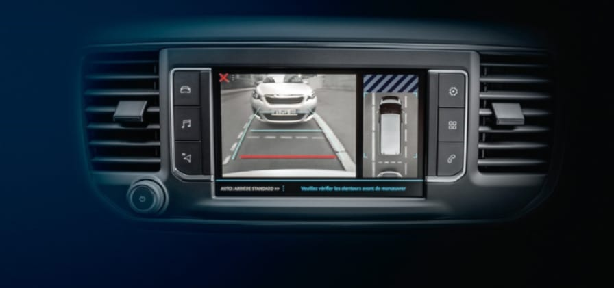 Peugeot bakkamera