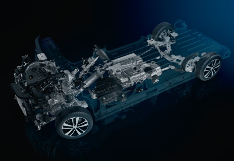 Ny Peugeot platform