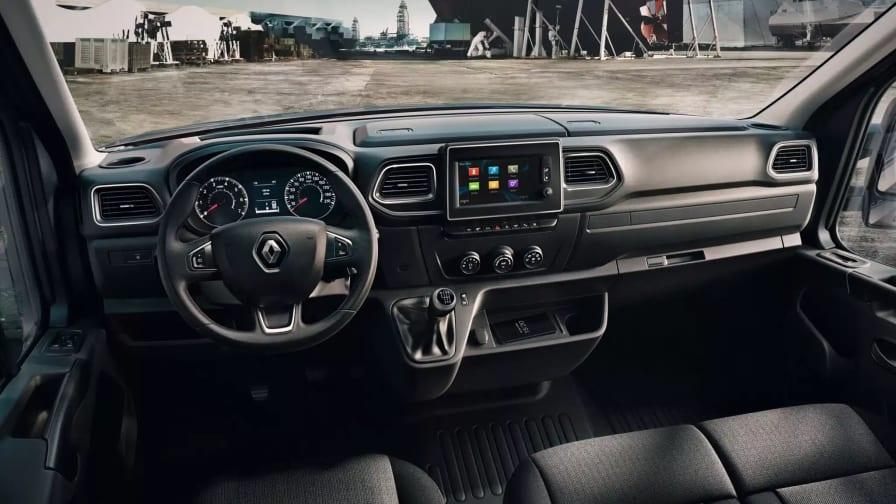 Førerhuset med Apple Carplay i Renault Master