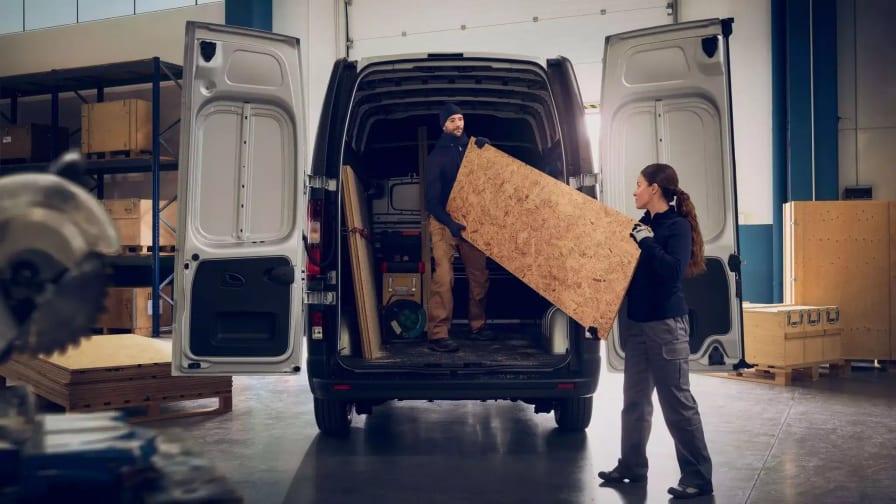 Lastrummet til Renault Trafic