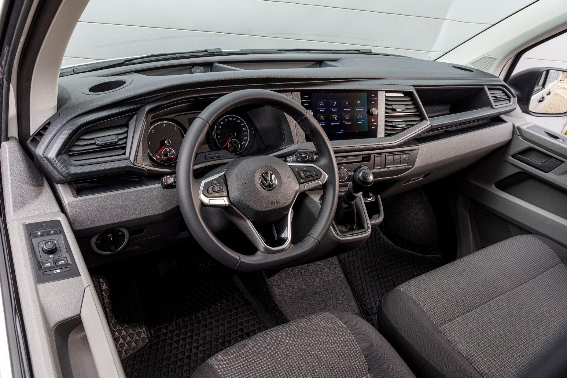 VW Transporter cockpit