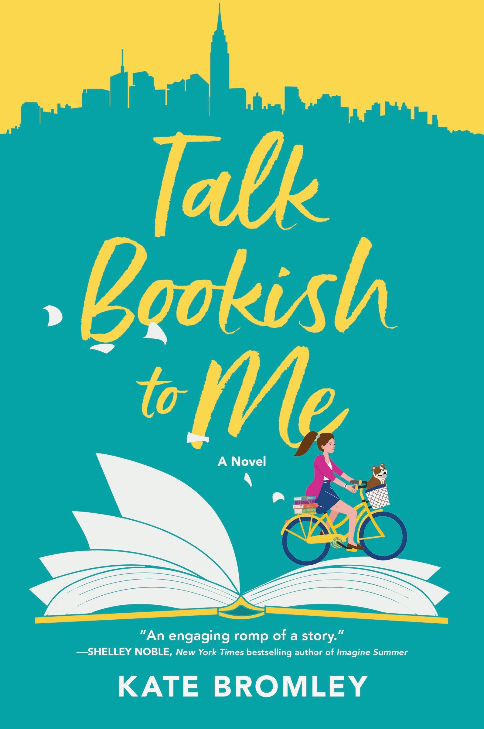 Cover Art: Talk Bookish to Me