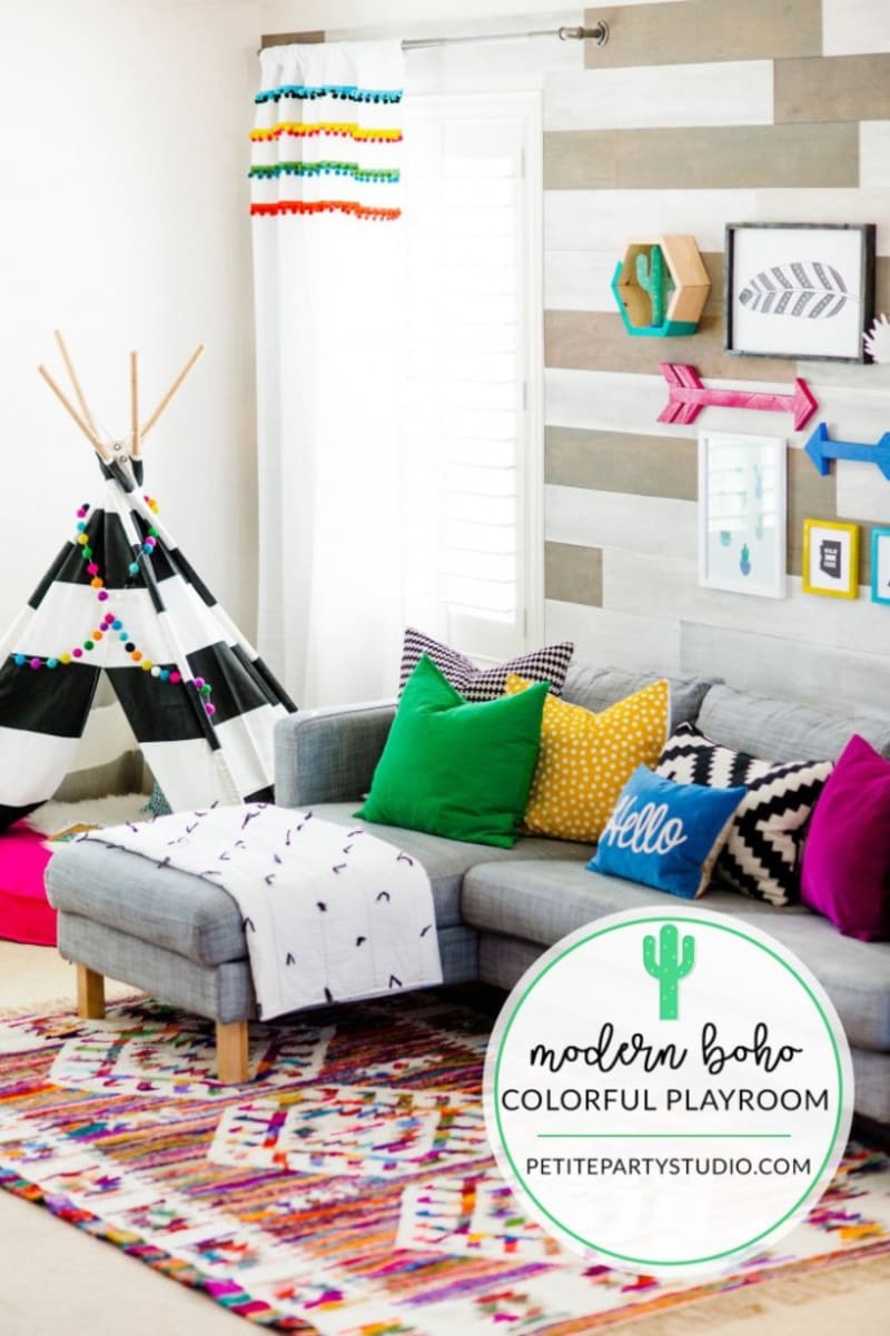 10 Amazing Kids Playroom Makeover Ideas You Ll Love Kate Decorates