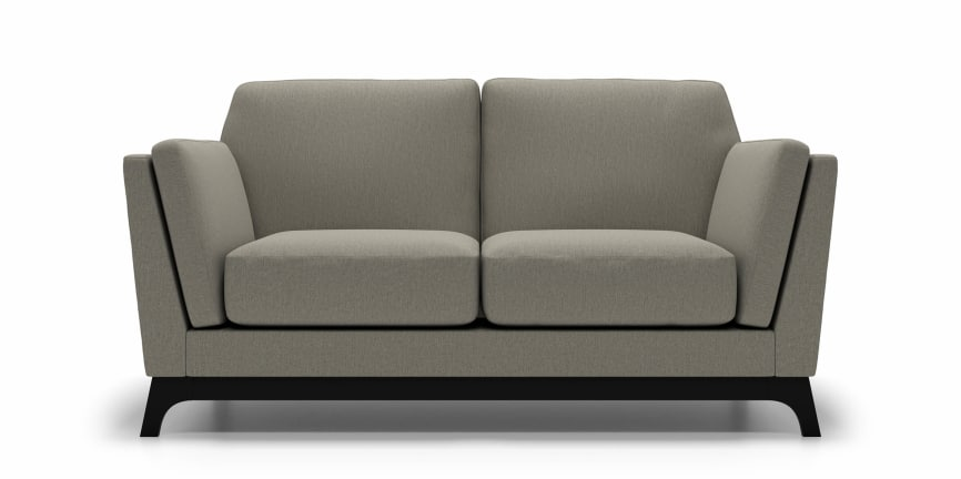 anders loveseat in fabric grey goose