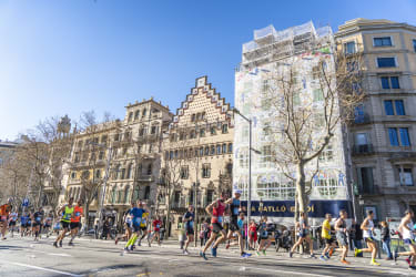 Marathon de Barcelone - Casa Batllo