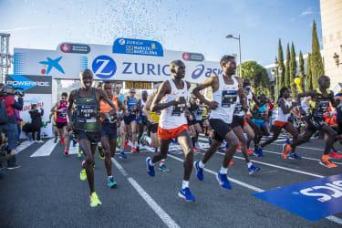 Marathon de Barcelone - Elites