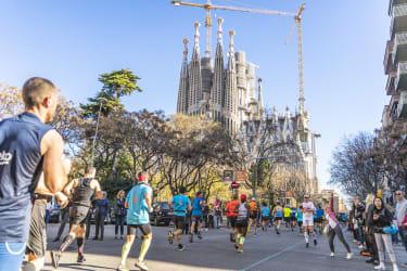 Marathon de Barcelone - Sagrada Familia