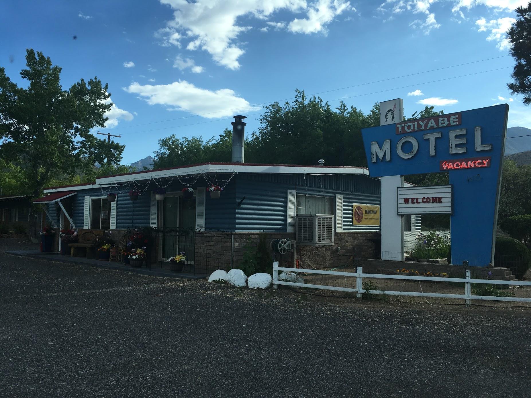 Toiyabe Motel.