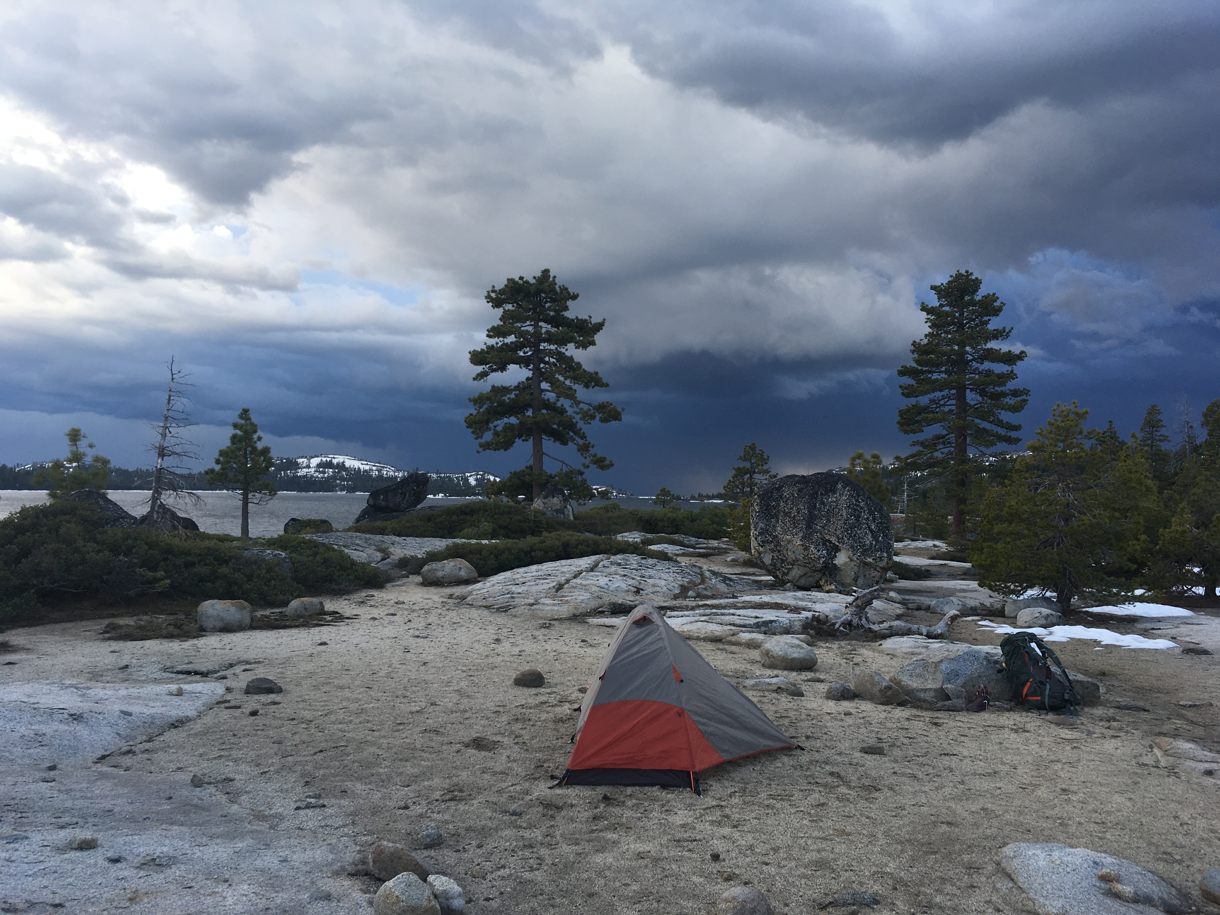 My first campsite.