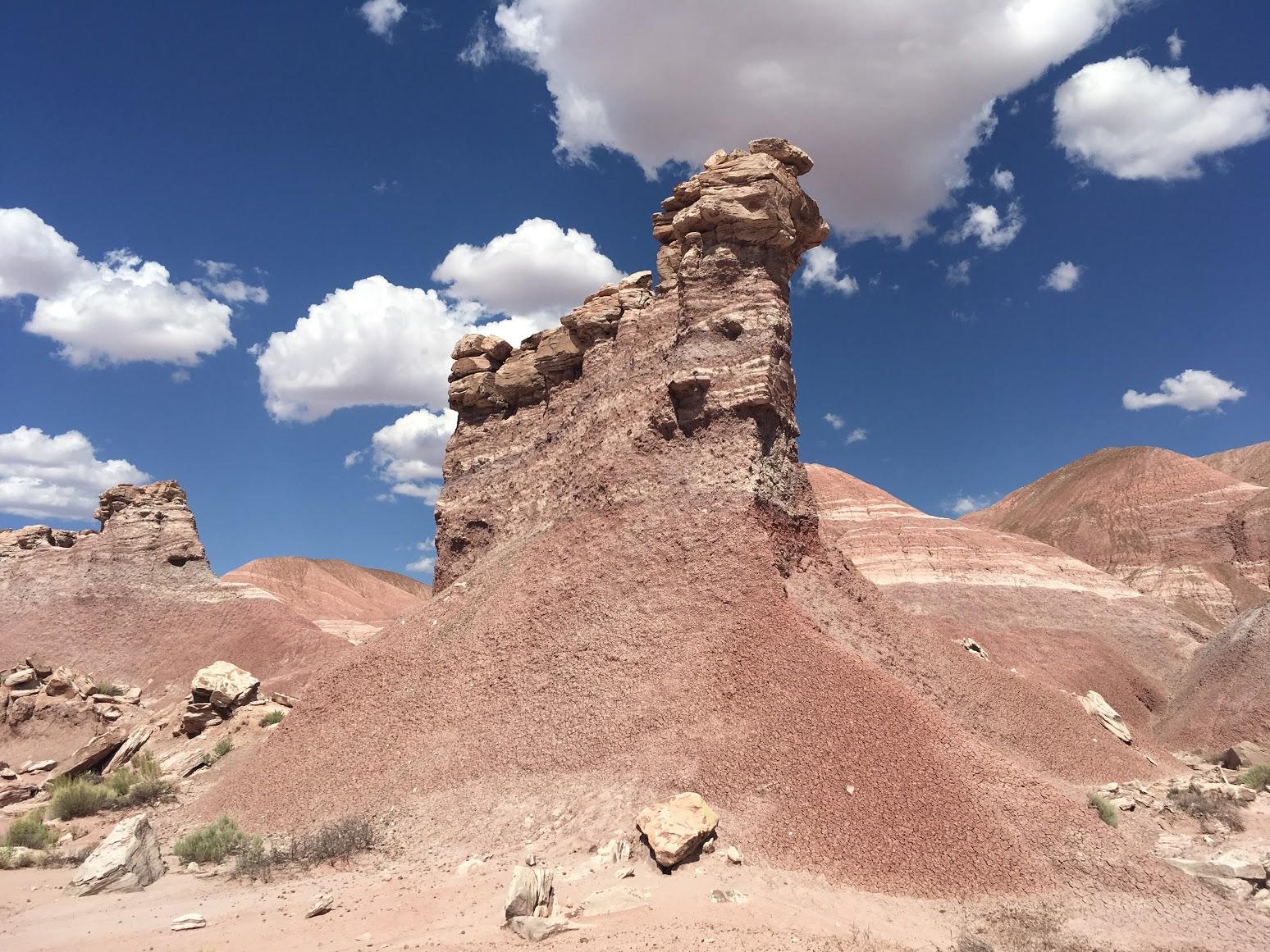 Rocky terrain.