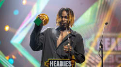 Fireboy: The star of 14th Headies equals Wande Coal record