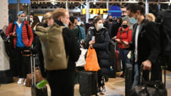 Londoners flee capital ahead of tougher Covid-19 restrictions that came into force on Sunday