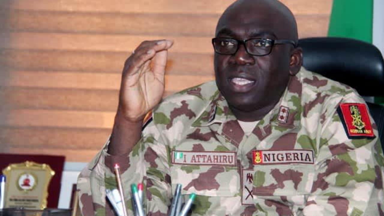 Buhari's new COAS Attahiru was sacked from Boko Haram front
