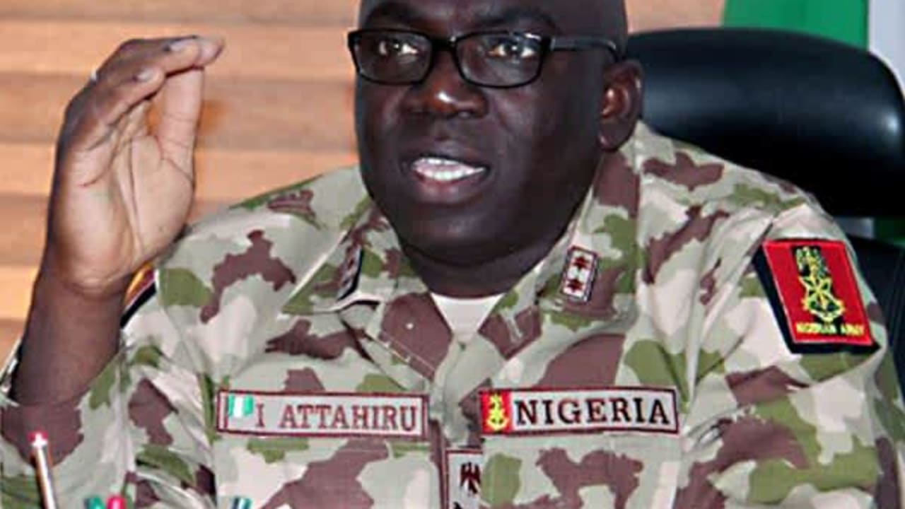 COAS Attahiru orders troops flush Boko Haram out of Marte