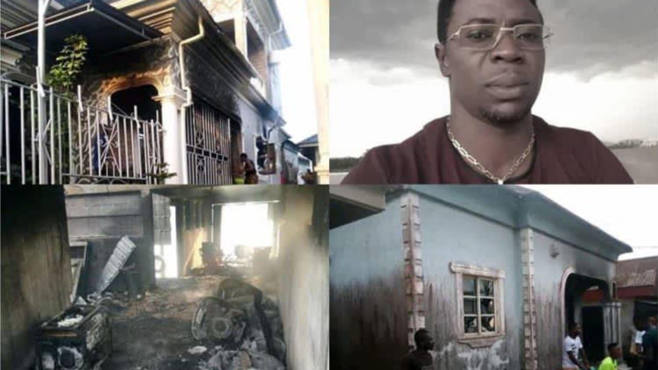 Sporadic shootings on Christmas Day: General Ogunbos' house burnt in Bayelsa
