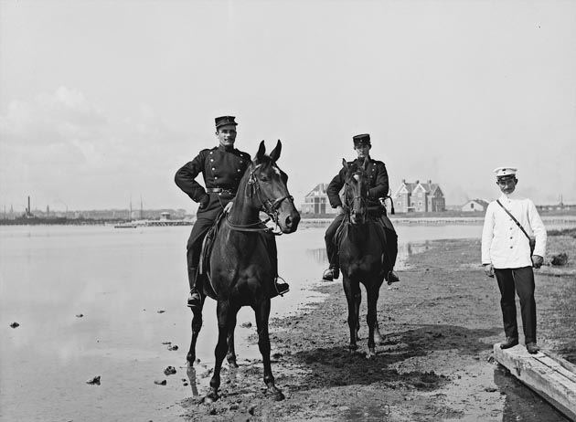 Artillerister til hest