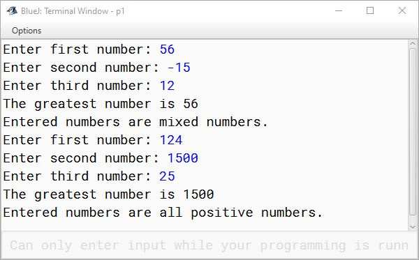 BlueJ output of KboatNumberAnalysis.java