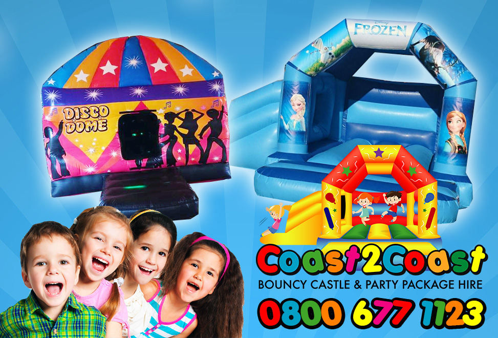 Coast2coast Bouncy Castle & Party Package Hire