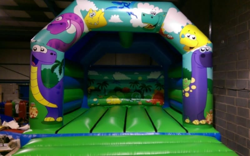 Dinosaur Bouncy Castle 12x14
