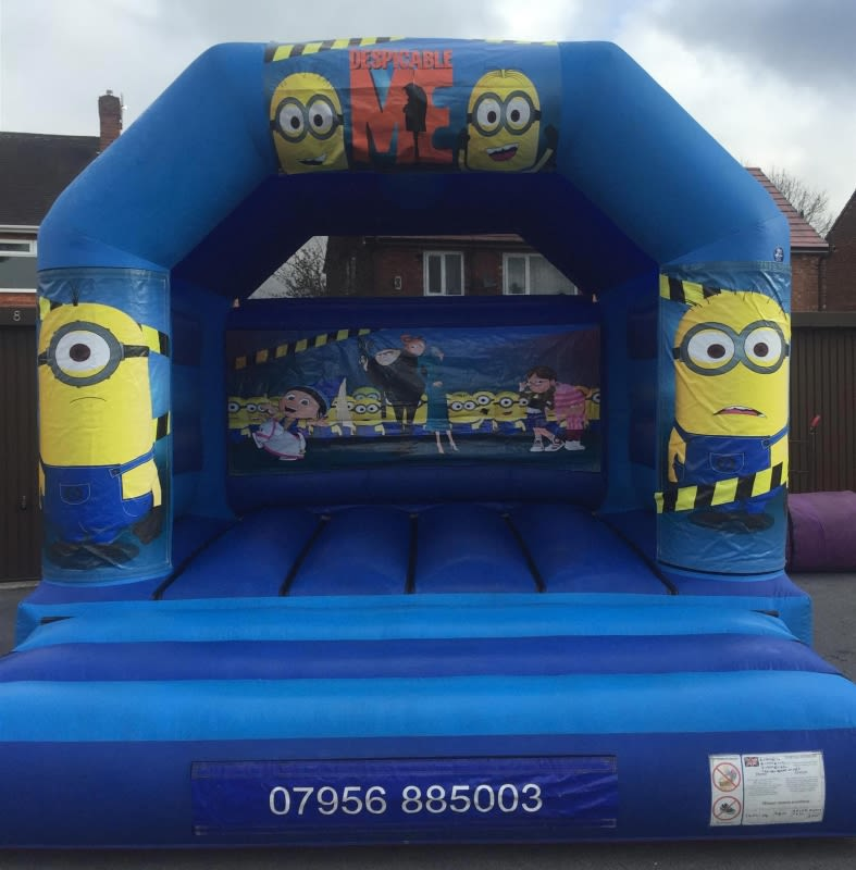 Minions Bouncy Castle - 12 X 14