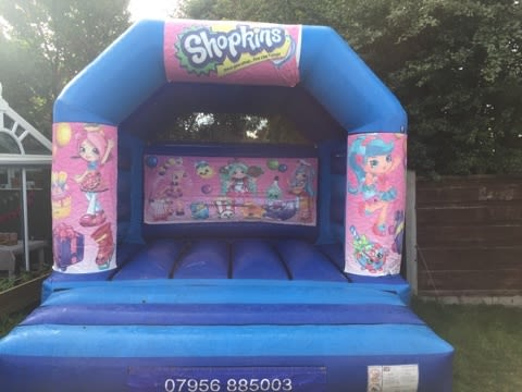 Shopkins Bouncy Castle - 12 X 14