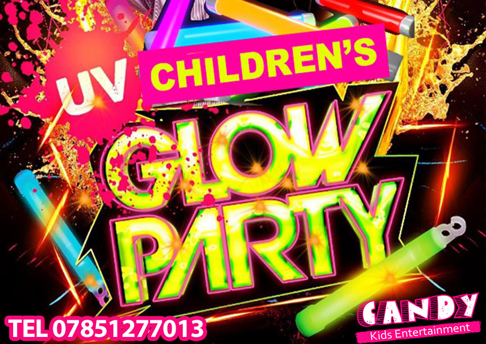Uv Party  For Children To Teenager