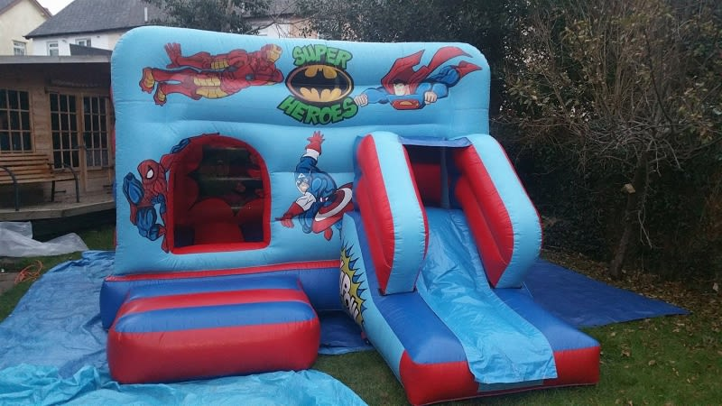 Super Hero Bouncy & Slide