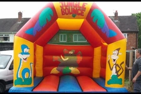 Jungle Bouncy Castle - 12 X 14