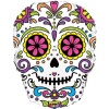 Sugar Skull 27inch Supershape Balloon